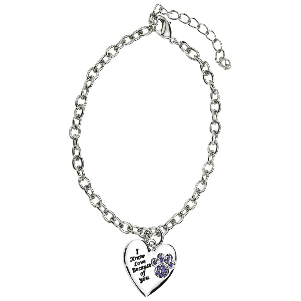Promo - PROMO - I Know Love Because Of You Paw Bracelet