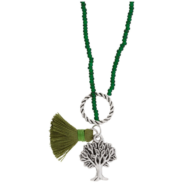 Promo - PROMO - Tree Of Life Beaded Necklace