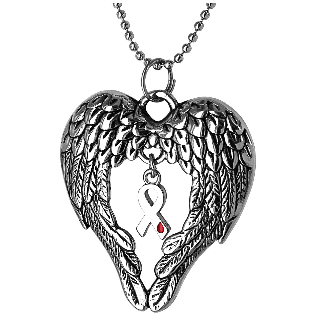 Promo - PROMO - Wings Of An Angel Diabetes Awareness Necklace