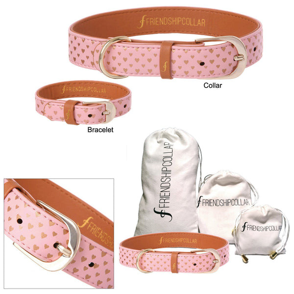 Puppy Love Friendship Collar & Bracelet Set