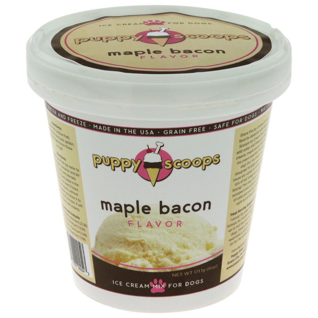 Puppy Scoops Maple Bacon Ice Cream Mix