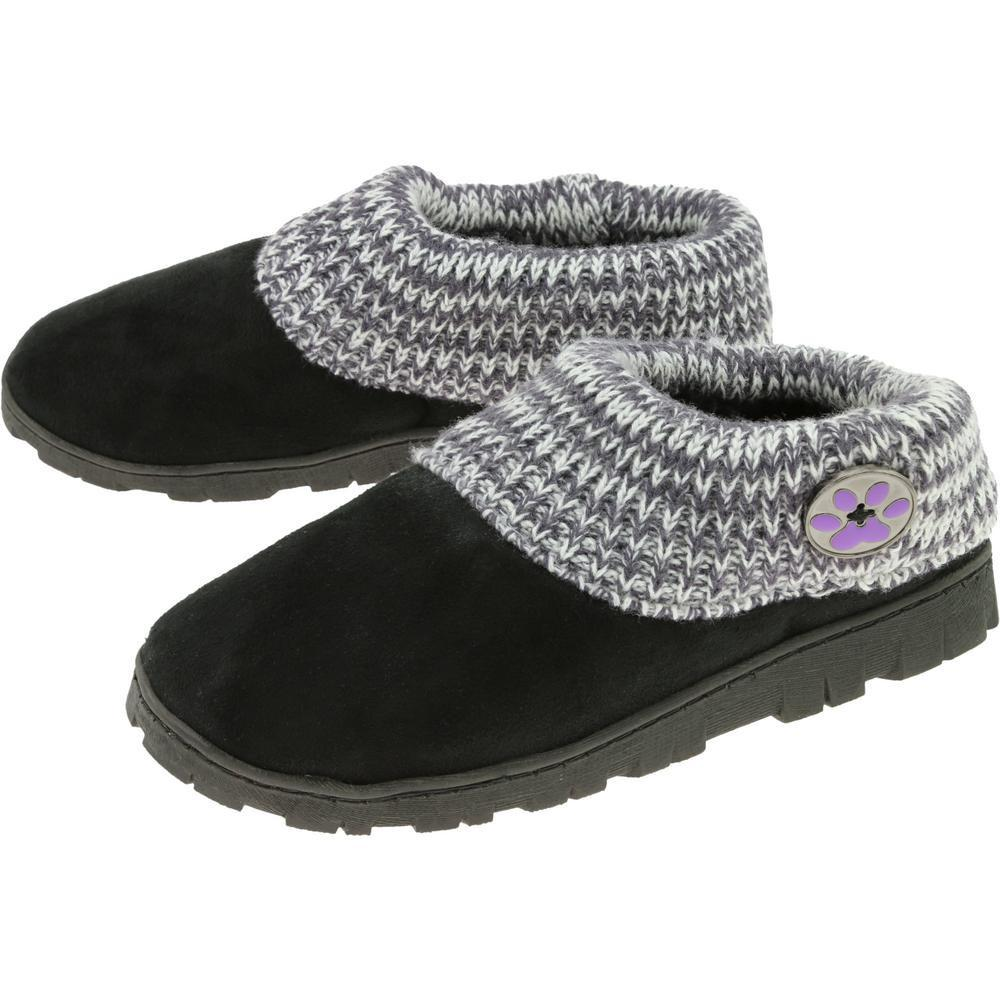 Purple Paw Comfy Clog Slippers