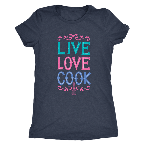 T-shirt - Live Love Cook Women's T-Shirt