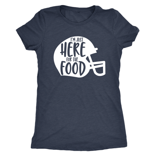 T-shirt - Just Here For The Food Women's T-Shirt