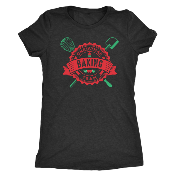 T-shirt - Christmas Baking Team Women's T-Shirt