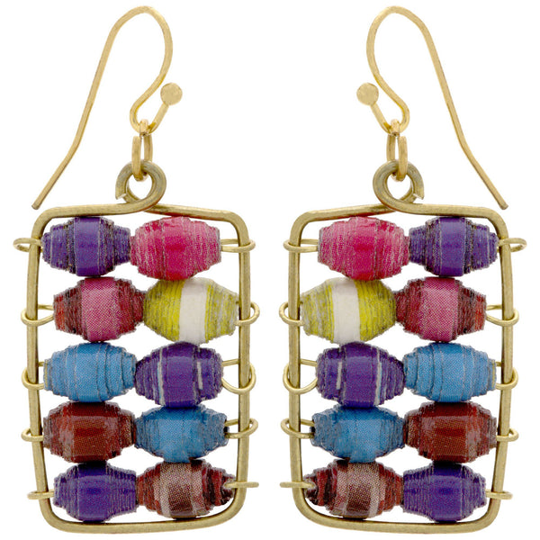Quazi Abacus Earrings