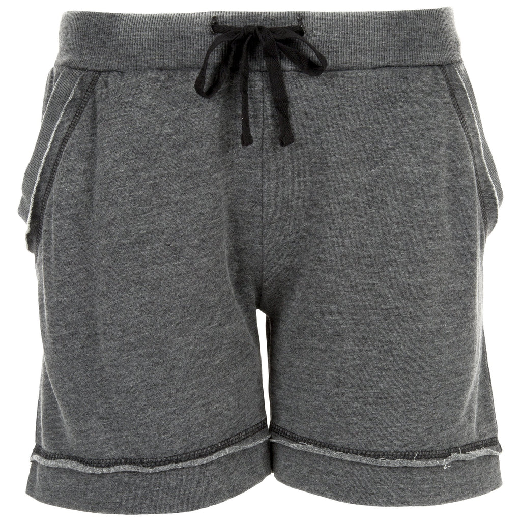 Raw Edge Burnout Shorts