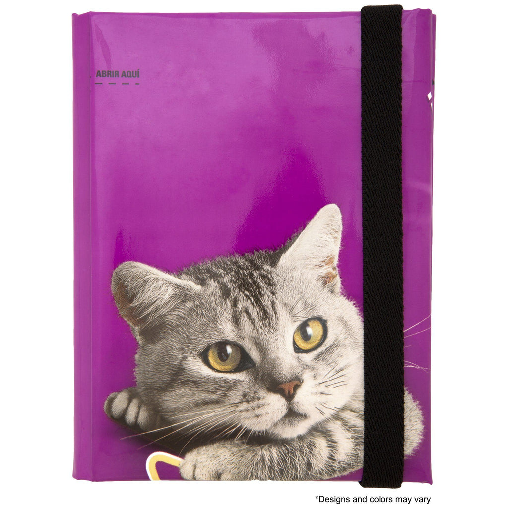 Recycled Cat Food Passport Holder