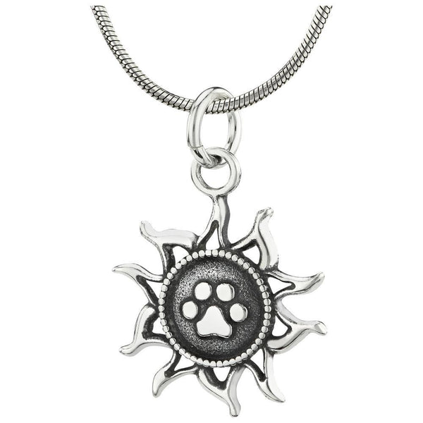Recycled Sterling You Light Up My Life Necklace