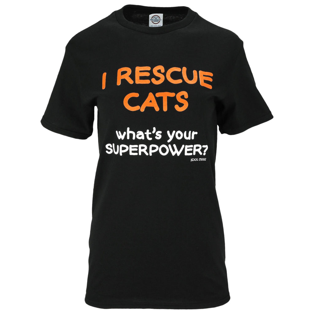 Rescue Cats Superpower T-Shirt