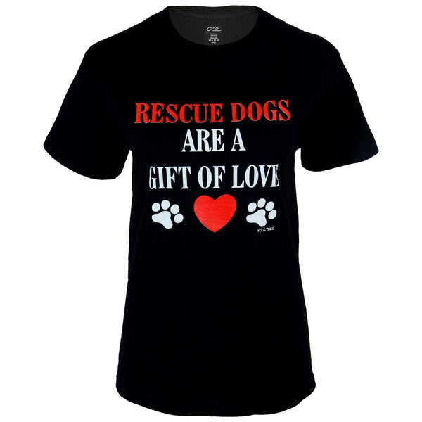 Rescue Dogs Are A Gift Of Love T-Shirt