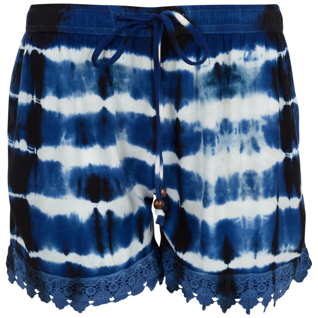 Ride The Wave Lace Trim Shorts