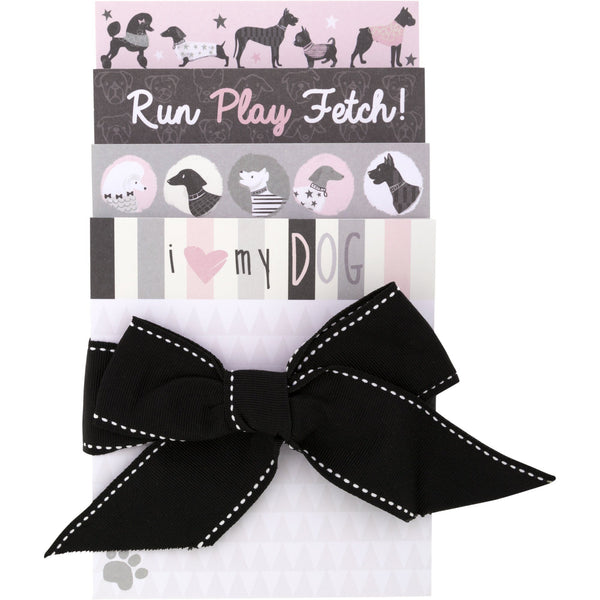Run Play Fetch Notepad Set