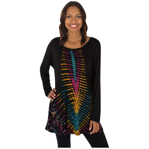 Rushing River Tie Dye Tunic