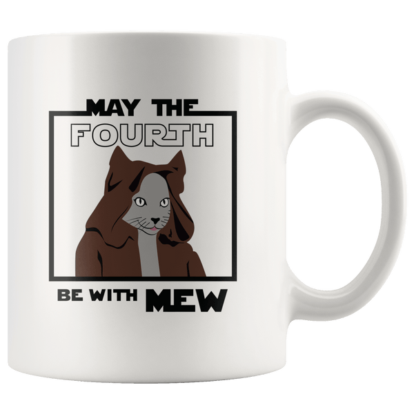 Drinkware - May The 4th Be With Mew Mug