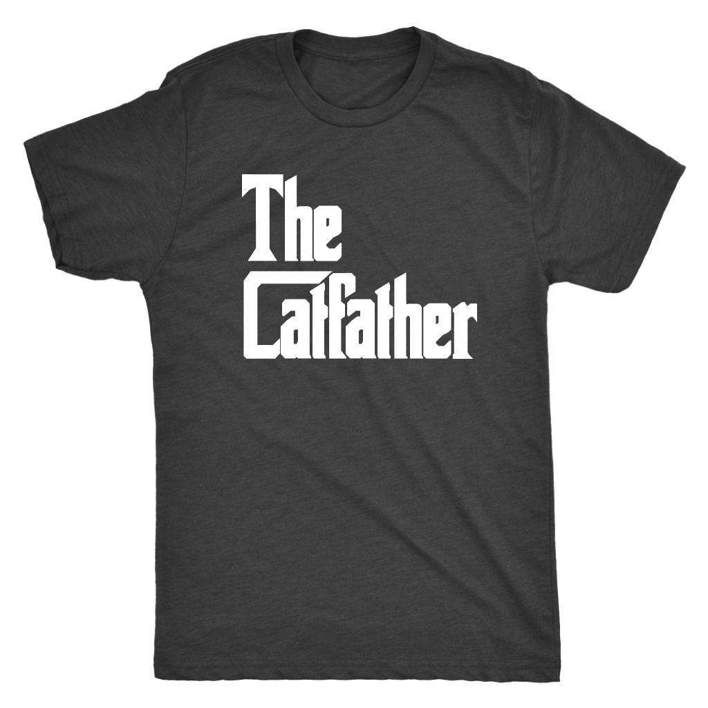 T-shirt - The Catfather Men's Triblend T-Shirt