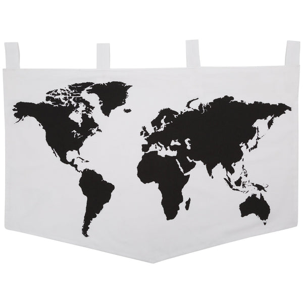 See The World Map Banner