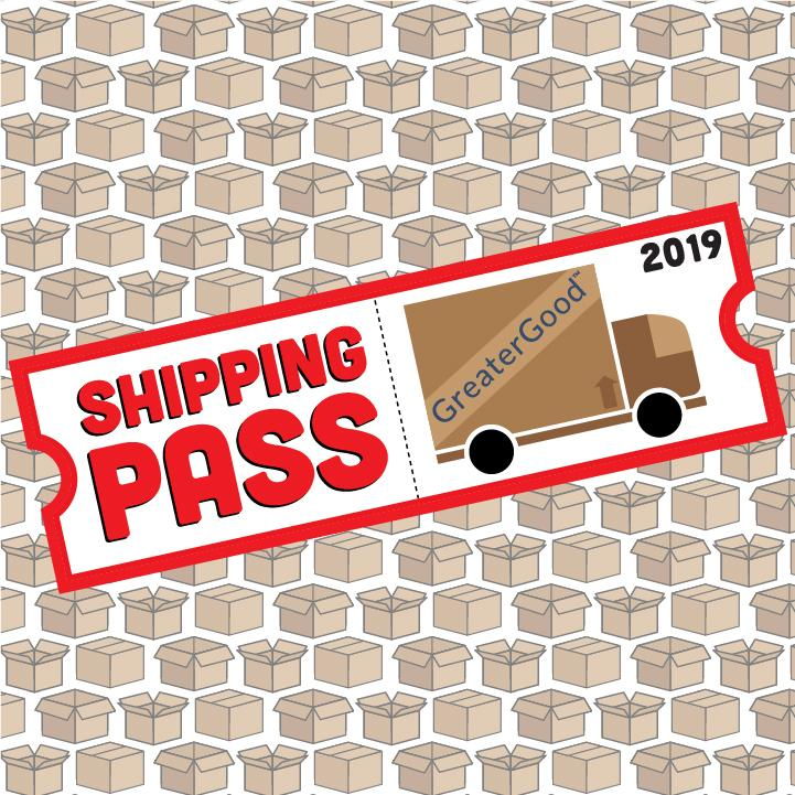 Virtual - 2019 Shipping Pass<div><small>Unlimited Free Shipping Now Through 2019 </small></div>