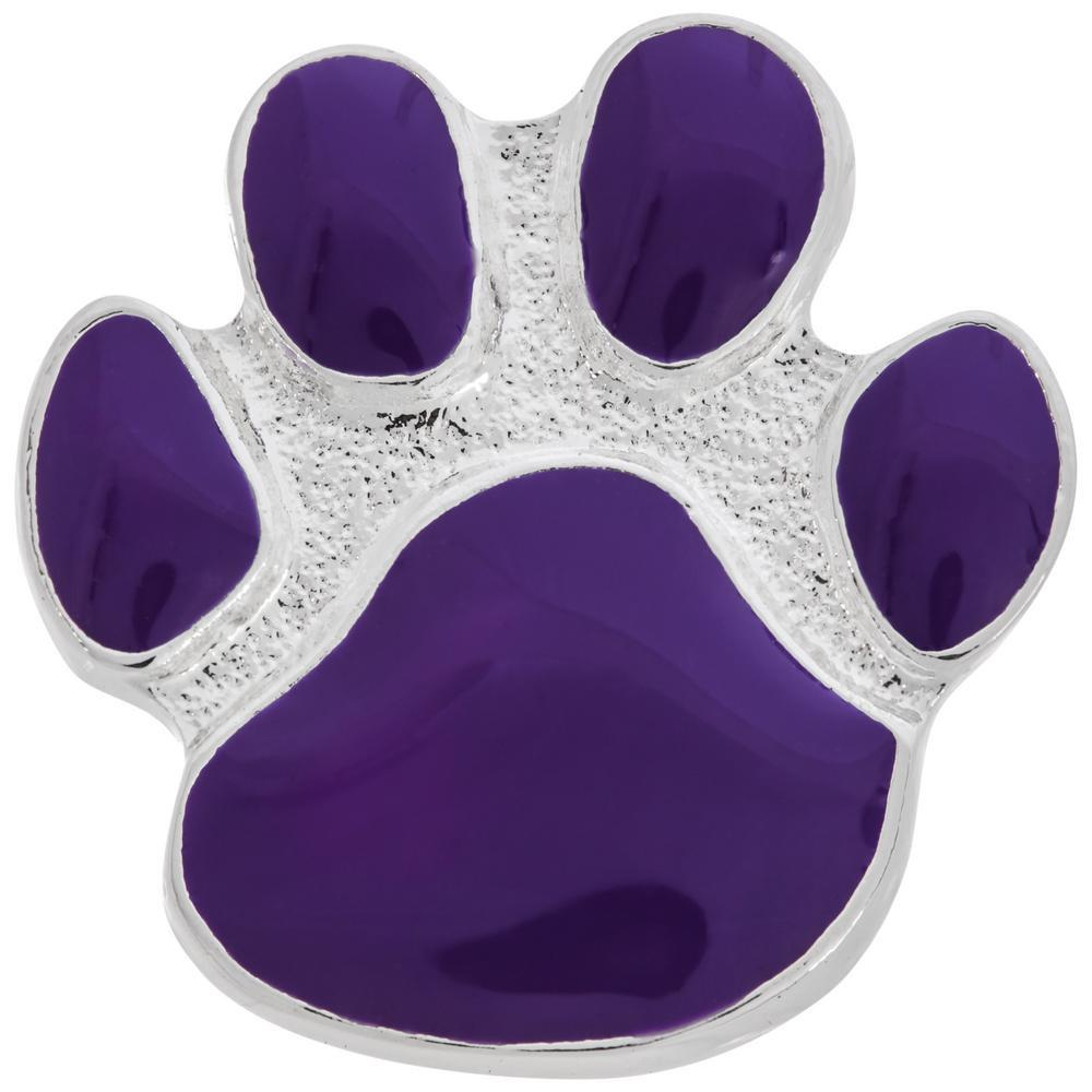 Signature Purple Paw Pin