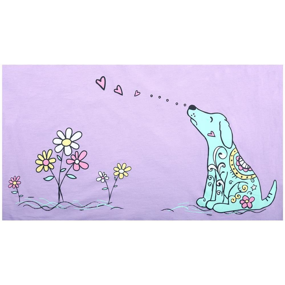 4a22777589 ... Smell The Flowers Dog Nightshirt ...