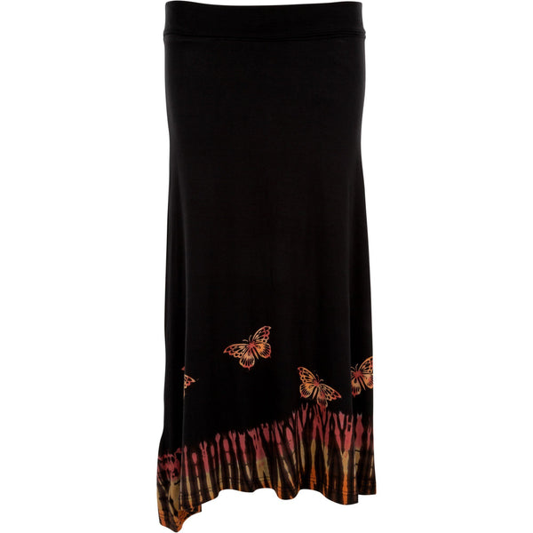 Southern Butterfly Dyed Skirt
