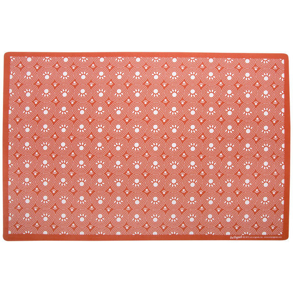 Speckle & Spot™ Red Pet Placemat