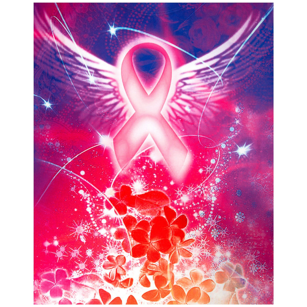 Spirit Wings Pink Ribbon Tee