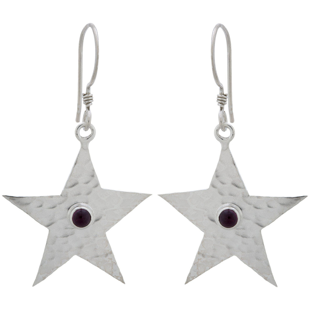 Star Shine Sterling Earrings