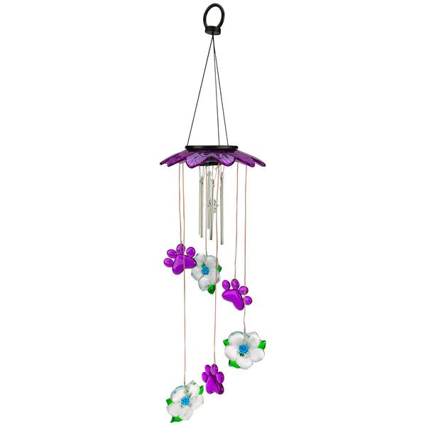 Starlight Paws Solar Wind Chime