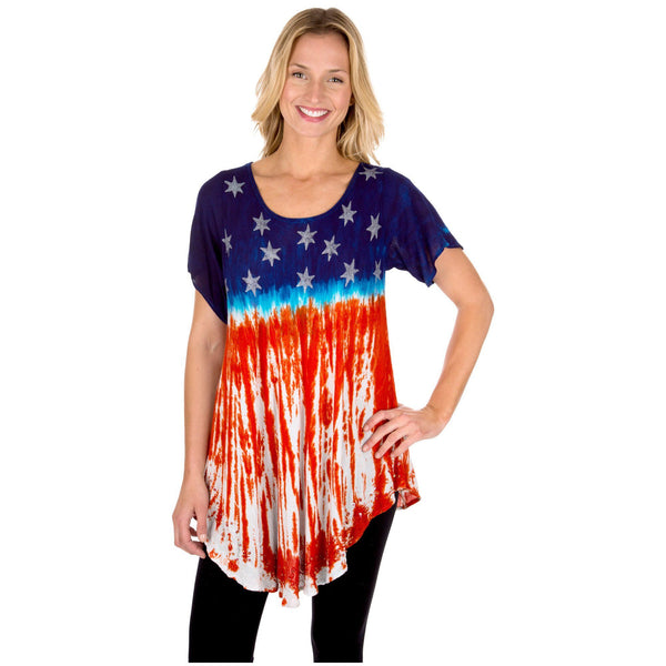 Stars & Stripes Short Sleeve Tunic