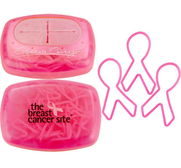 Stow-n-Go Pink Ribbon Rubber Bands - Set Of 30