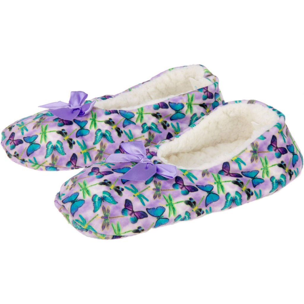 Super Cozy Fluttering Friends Slippers