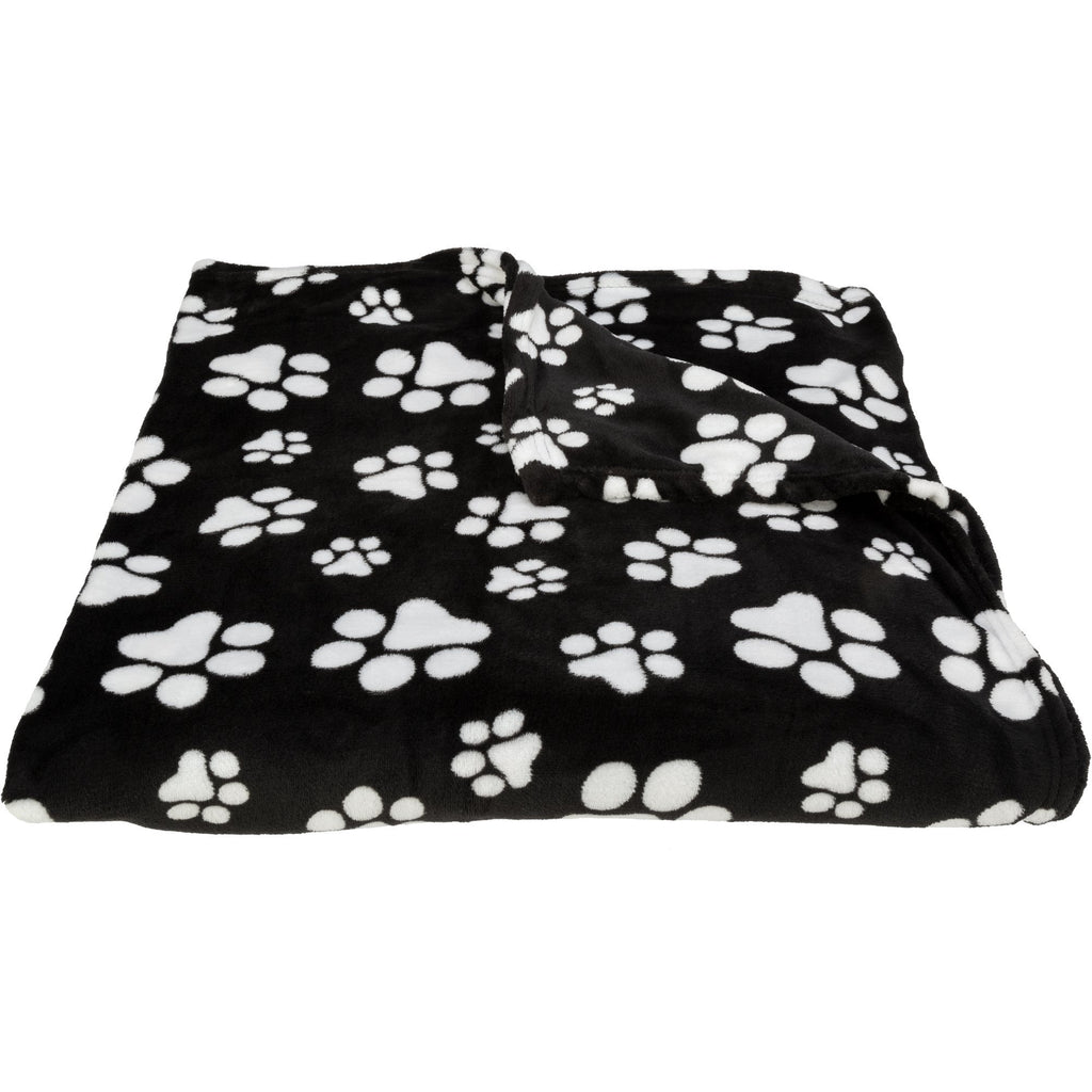 Super Cozy™ Fleece Paw Pillow Cases & Blanket