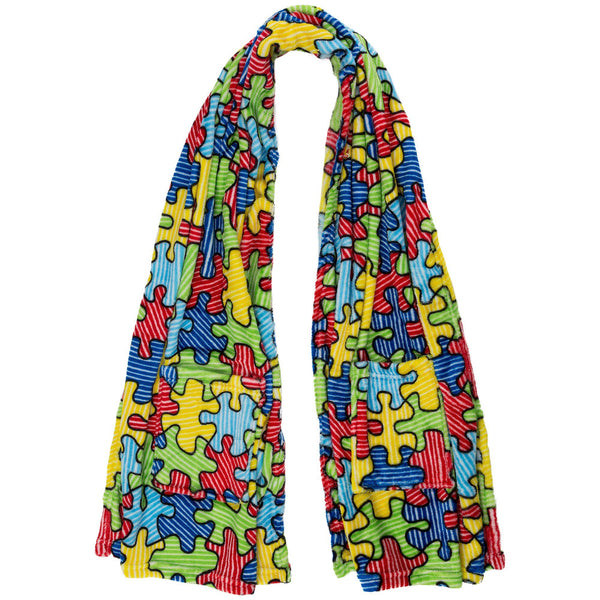 Super Cozy™ Puzzles Galore Pocket Wrap