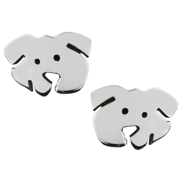 Sweet Dog Face Sterling Earrings