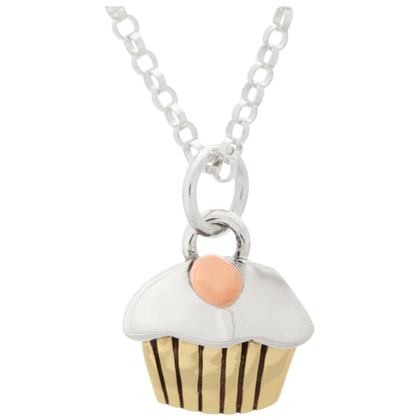Sweet Mini Cupcake Necklace