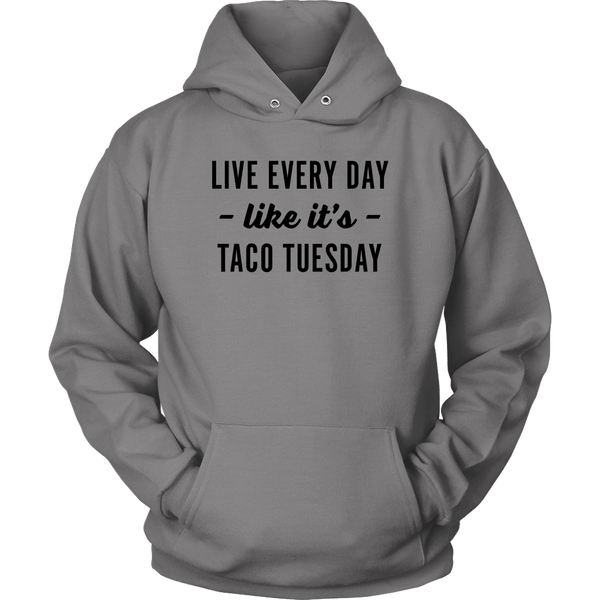 T-shirt - Taco Tuesday Hooded Sweatshirt