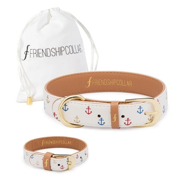 Tails & Sails Friendship Collar & Bracelet Set