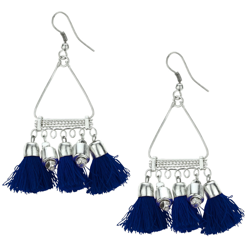 Taj Tassel Earrings