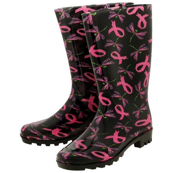 Take Flight Pink Ribbon Ultralite™ Rain Boots