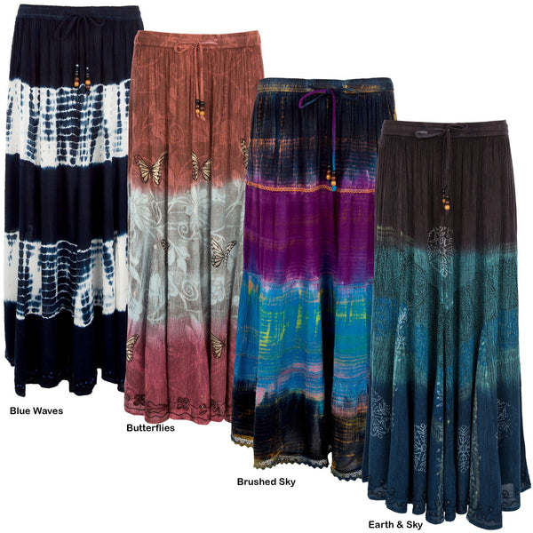 Taking It To The Maxi Skirt Collection