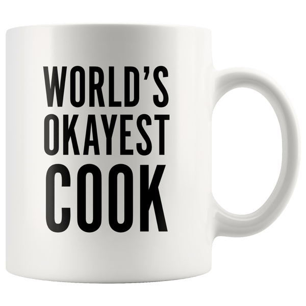 Drinkware - World's Okayest Cook Mug