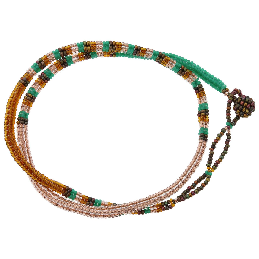 Thanda Zulu Beaded Wrap Bracelet/Necklace