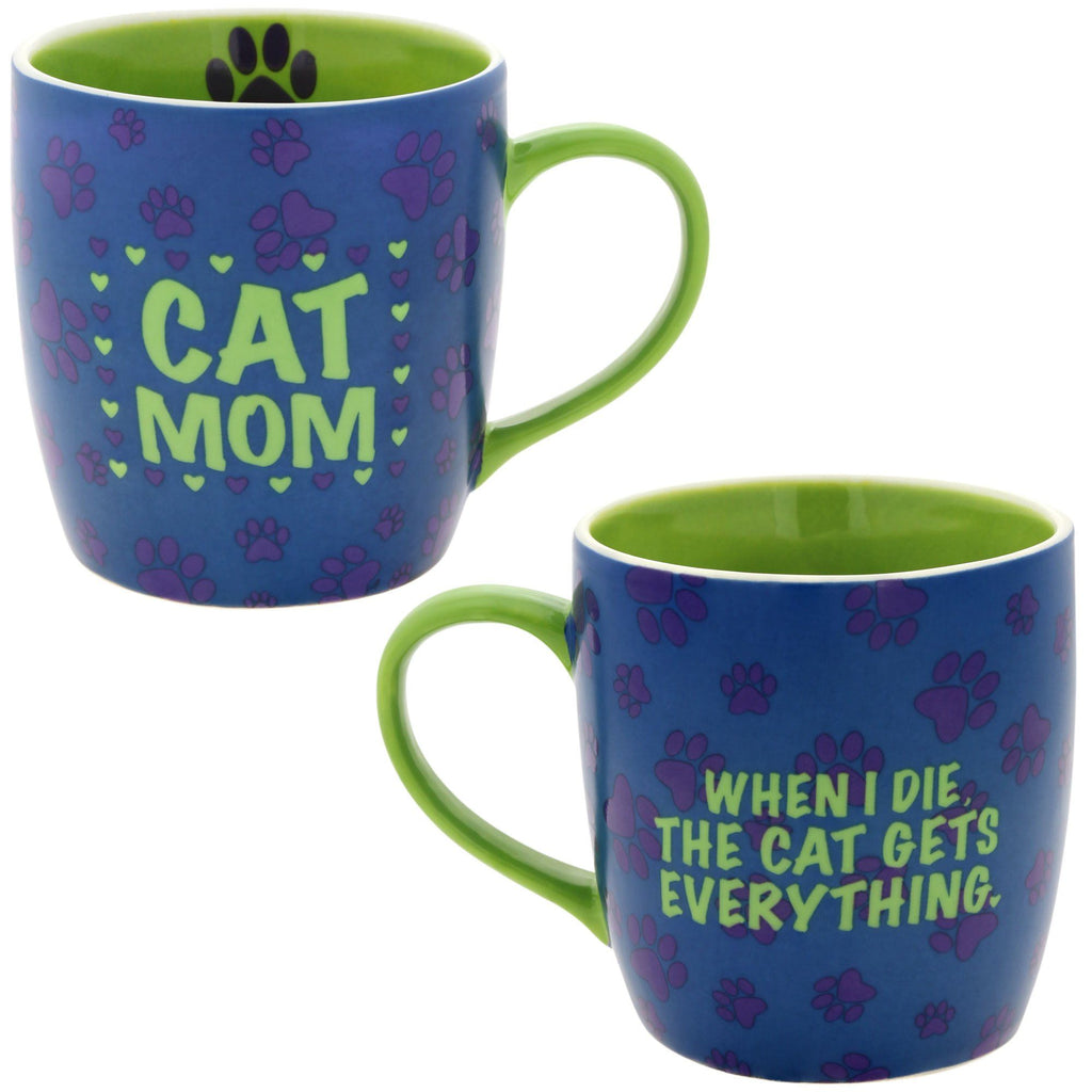 The Cat Gets Everything Mug