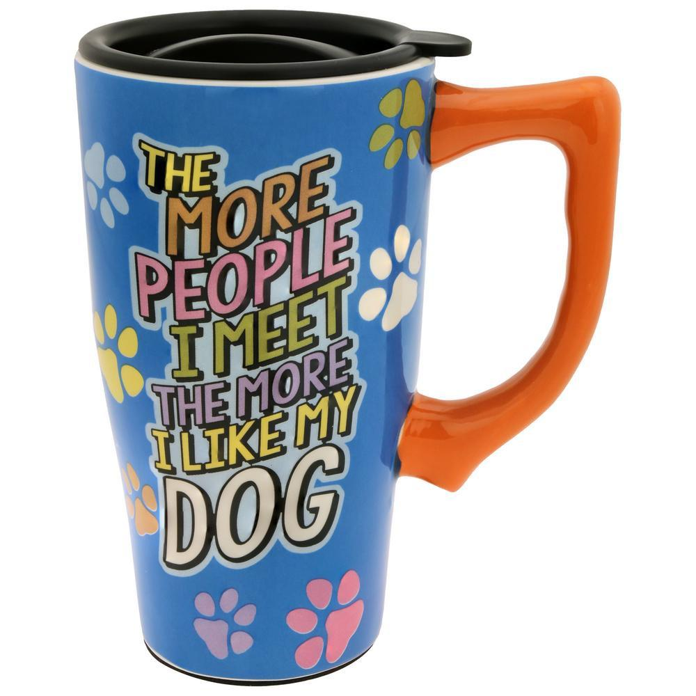 The More People I Meet Travel Mug