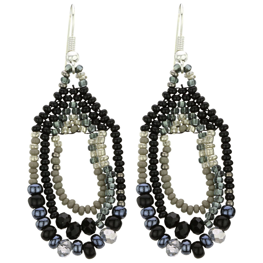 Three Cheers Beaded Earrings