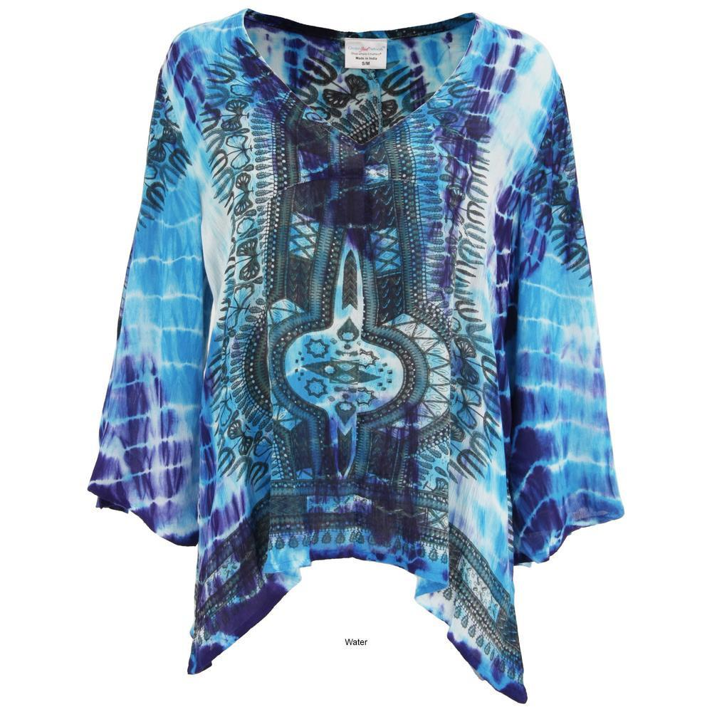 Tie Dye Spirit Long Sleeve Top