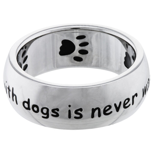 Time Spent With Dogs Ring