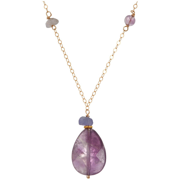 Tranquil Amethyst Necklace