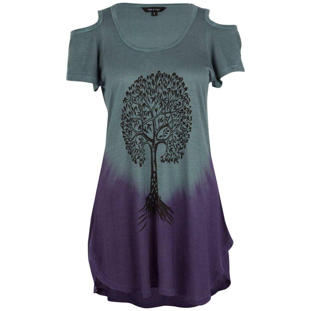 Tree Of Life Peek-a-Boo Tee